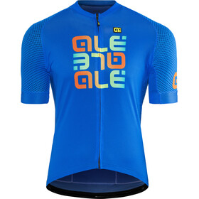 Alé Cycling Solid Mirror SS Jersey Herre blue